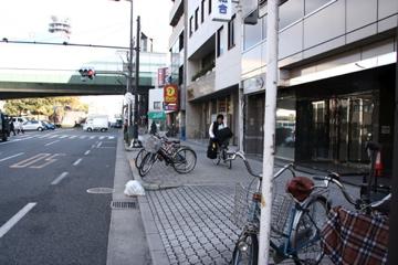 平良クン自転車にて登場!