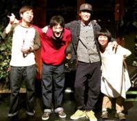 2015.3.7 @京都磔磔 べべチオワンマンライブ「つづく」